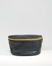 Черная сумка-кошелек на пояс из искусственной кожи Mi-Pac - Черный