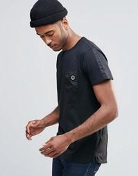 Футболка с карманом Jack & Jones - Черный