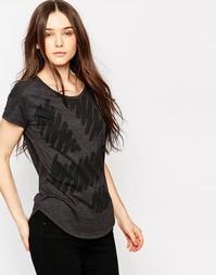Облегающая футболка G Star Evalu - Черный