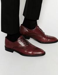 Бордовые оксфордские туфли из кожи ASOS - Burgundy