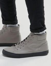 Высокие кроссовки Walk London - Серый