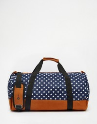 Темно-синяя сумка-дафл со звездами Mi-Pac - Темно-синий