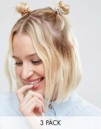 Резинки для волос ограниченной серии с отделкой - Мульти Asos
