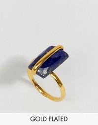 Кольцо с камнем Ottoman Hands Lapis - Золотой