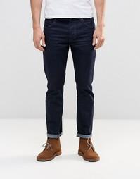 Темные зауженные джинсы Wrangler Boyton - Rinse broke