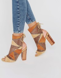 Сандалии на каблуке с ремешком на щиколотке Truffle Collection Vela