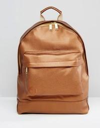 Золотистый рюкзак из кожзаменителя Mi-Pac - Золотой