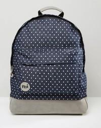 Джинсовый рюкзак в горошек Mi-Pac - Синий
