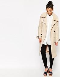 Классическое легкое пальто The WhitePepper - Бежевый
