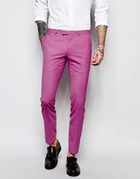 Супероблегающие эластичные брюки Noose & Monkey - Розовый