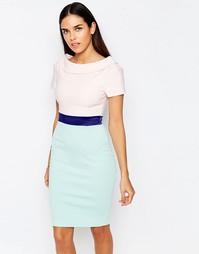 Платье-футляр с поясом Vesper Brodie