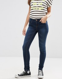 Облегающие джинсы Noisy May Lucy 32'' - Умеренный синий