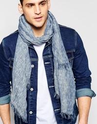 Легкий меланжевый шарф Esprit - Серый