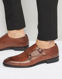 Туфли на молнии HUGO by Hugo Boss - Коричневый