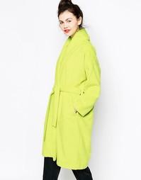 Жакет с поясом Monki - Зеленый