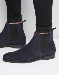 Замшевые ботинки челси Paul Smith Gerald - Синий