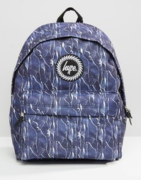 Рюкзак с принтом трещин Hype - Черный