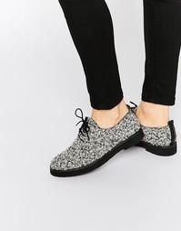 Туфли на плоской подошве и шнуровке Miista Eloise