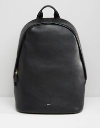 Кожаный рюкзак Paul Smith - Черный