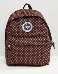 Рюкзак в горошек Hype - Красный