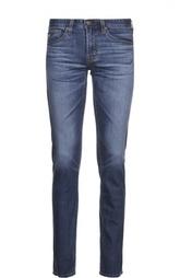 Зауженные джинсы из эластичного хлопка Ag