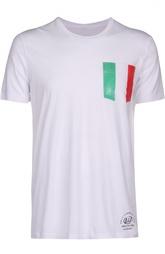 Хлопковая футболка  с карманом Parajumpers