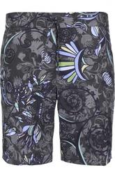 Плавки-шорты с карманами и принтом Andrea Campagna
