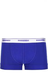 Брифы-боксеры с контрастной резинкой Dsquared2