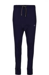 Хлопковые брюки с заниженной линией шага Vivienne Westwood