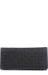 Кожаное портмоне с контрастной отделкой Bottega Veneta