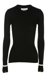 Приталенный пуловер с разрезами и ремнями Martin Margiela