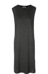 Платье без рукавов прямого кроя 6397