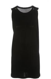 Удлиненный топ без рукавов с декоративной отделкой Calvin Klein Collection