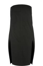 Платье-бюстье свободного кроя с разрезами DRKSHDW