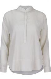 Блуза с воротником-стойкой и кружевной отделкой Zadig&Voltaire Zadig&;Voltaire