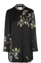 Прямое пальто с цветочным принтом Schumacher
