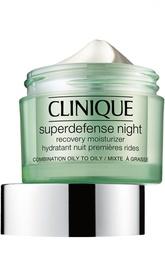 Ночной крем для жирной и комбинированной кожи Clinique