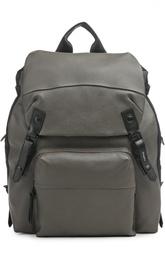 Рюкзак с внешним карманом и клапаном Lanvin