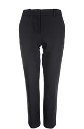 Укороченные прямые брюки с карманами Theory
