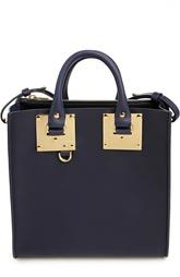 Кожаная сумка с металлической отделкой Sophie Hulme