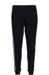 Спортивные хлопковые брюки с лампасами MCQ