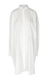 Платье-рубашка свободного кроя с нашивным карманом Dries Van Noten
