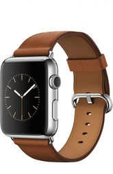 Apple Watch 42mm Silver Stainless Steel Case with Classic Buckle Apple