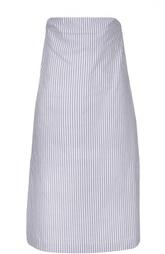 Мини платье-бюстье в полоску Erika Cavallini