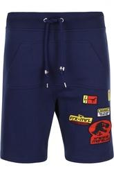 Хлопковые шорты с накладным карманом Frankie Morello