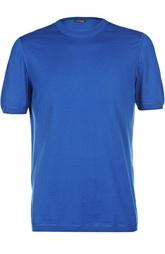 Хлопковая футболка с манжетами Kiton