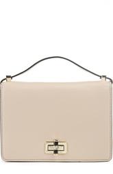 Кожаная сумка с внешним карманом Les Crossbody Diane Von Furstenberg