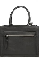 Кожаная сумка с двумя ручками Polo Ralph Lauren