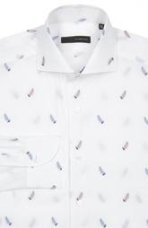 Свободная рубашка с принтом и воротником акула Stanbridge