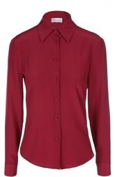 Шелковая приталенная блуза REDVALENTINO